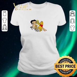 Original Winnie The Pooh Pouring Honey On Betty Boop shirt sweater