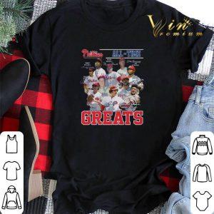 Philadelphia Phillies All-Time Greats Legends Signatures shirt sweater