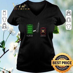 Premium Battery source Nurse and Corona shirt sweater