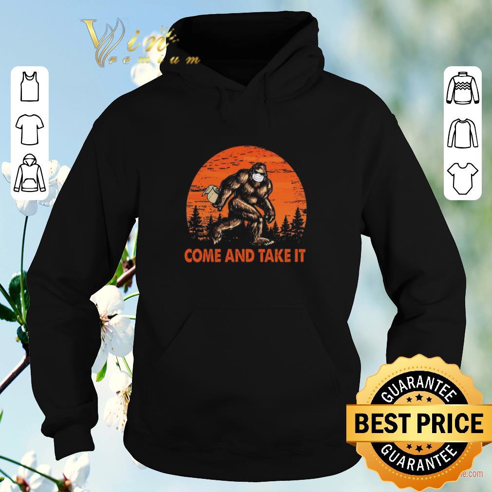 Premium Bigfoot Sasquatch Come And Take It Sunset Toilet Paper shirt sweater 4 - Premium Bigfoot Sasquatch Come And Take It Sunset Toilet Paper shirt sweater