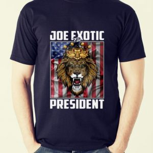 Premium Joe Exotic For President Tiger King American Flag shirt