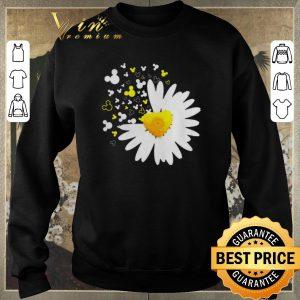 Premium Mickey head Oxeye Daisy Flower shirt sweater 2