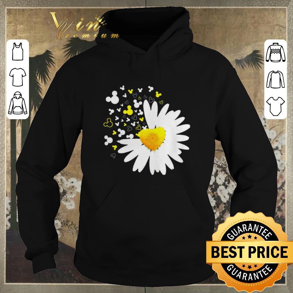 Premium Mickey head Oxeye Daisy Flower shirt sweater 4 - Premium Mickey head Oxeye Daisy Flower shirt sweater