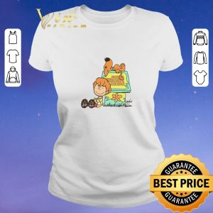 Pretty Shaggy and scooby Mystery Nuts Snoopy and Charlie Brown shirt sweater 1