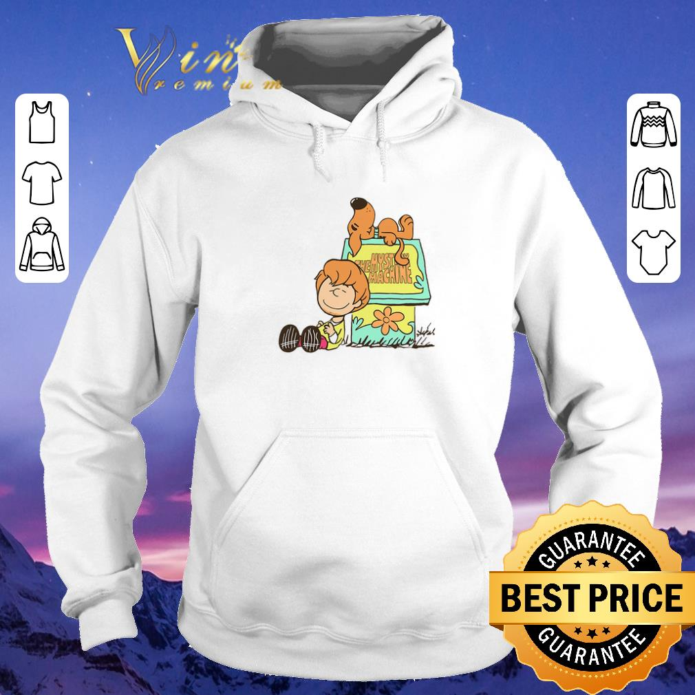 Pretty Shaggy and scooby Mystery Nuts Snoopy and Charlie Brown shirt sweater 4 - Pretty Shaggy and scooby Mystery Nuts Snoopy and Charlie Brown shirt sweater
