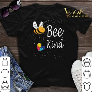 Puzzle Autism Awareness Bee Kind shirt sweater