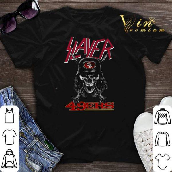 Skull Slayer San Francisco 49ers Logo shirt sweater