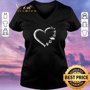 Top Love flip flop wine Sailor cruise ship heart shirt sweater