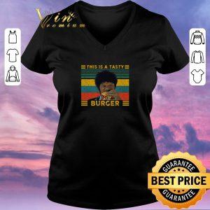 Top Vintage Pulp Fiction this is a tasty burger Samuel L. Jackson shirt sweater