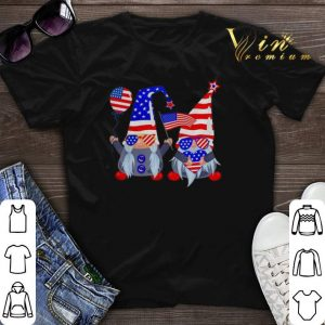 4th of July American flag gnomes shirt sweater
