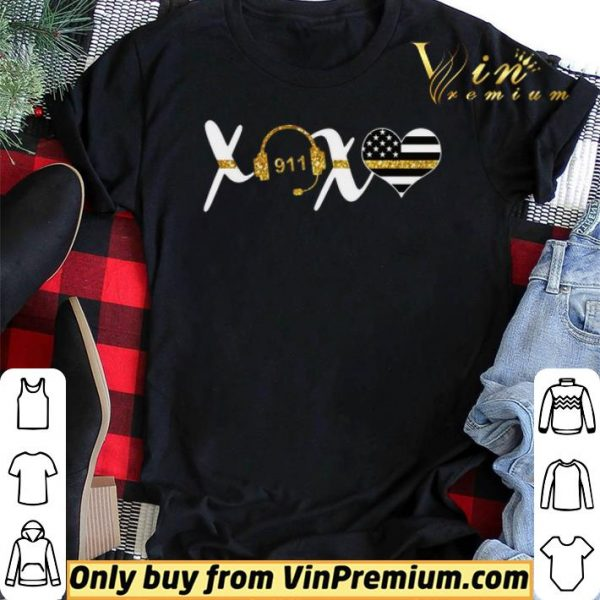 911 Xoxo American Flag shirt sweater