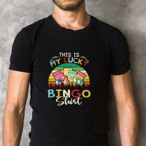 Awesome This is my lucky bingo vintage shirt 1