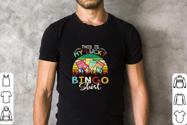 Awesome This is my lucky bingo vintage shirt