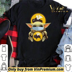 Baby Yoda Mask Hug Buffalo Wild Wings shirt sweater