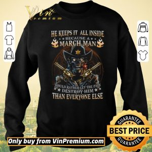 Hot Skull He Keeps It All Inside Because March Man Would Rather Let The Pain shirt sweater 2