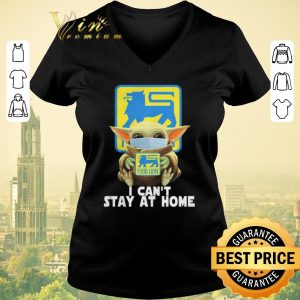 Nice Baby Yoda face mask hug Food Lion I can't stay at home shirt sweater 1