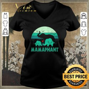Nice Elephant Love Mamaphant Vintage Mother Day shirt sweater
