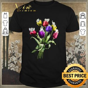 Nice Elephants Tulip Flowers shirt sweater