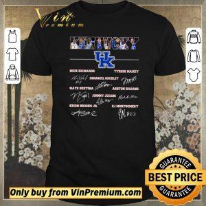 Original Kentucky Football Nick Richards Tyrese Maxey Immanuel Quickley Signature shirt sweater