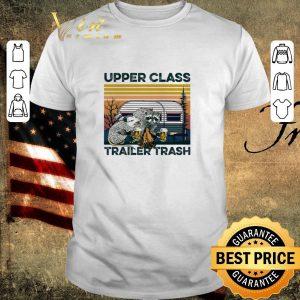 Pretty upper class trailer trash Vintage Raccoon and Opossum shirt