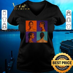 Top Alicia keys hole in shirt sweater