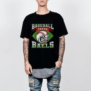 Baseball Takes Balls Merican Pastime shirt