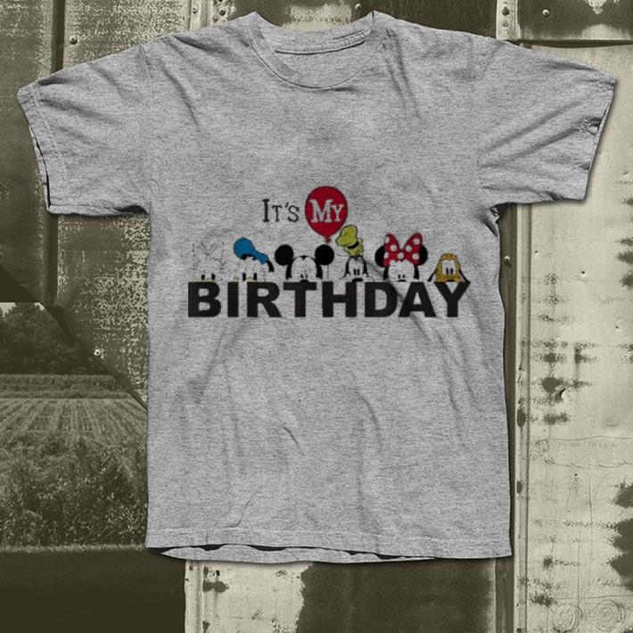 Disney Mickey And Friends It S My Birthday Shirt 4