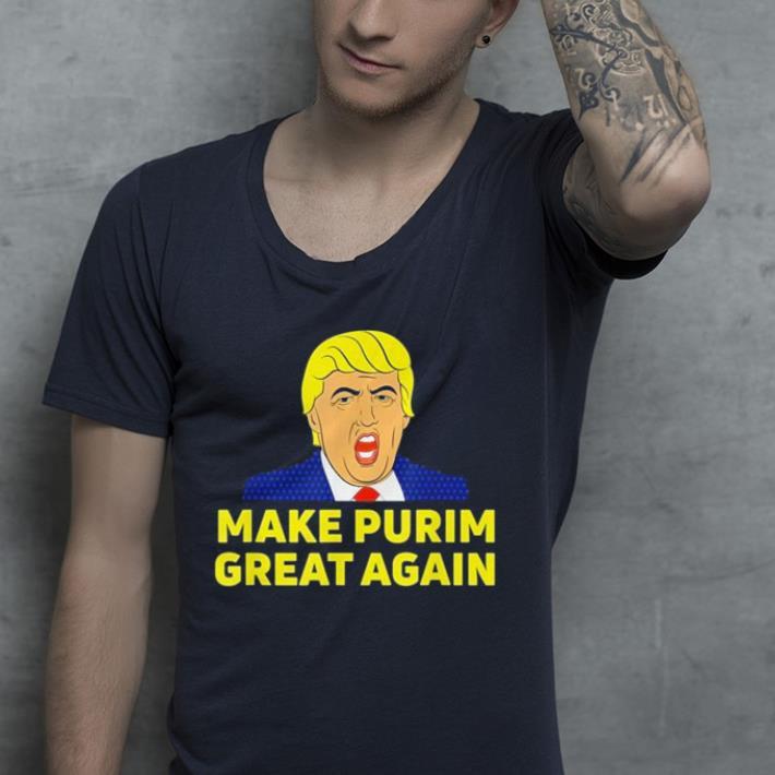 Make Purim Great Again Trump Hebrew Jewish israel Maga shirt 4 - Make Purim Great Again Trump Hebrew Jewish israel Maga shirt