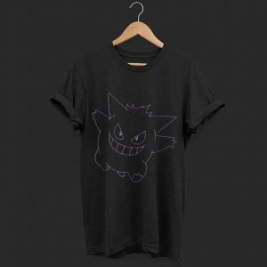 Pokemon Gengar Big Face shirt