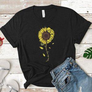 Skulls you are my sunshine sunflower shirt