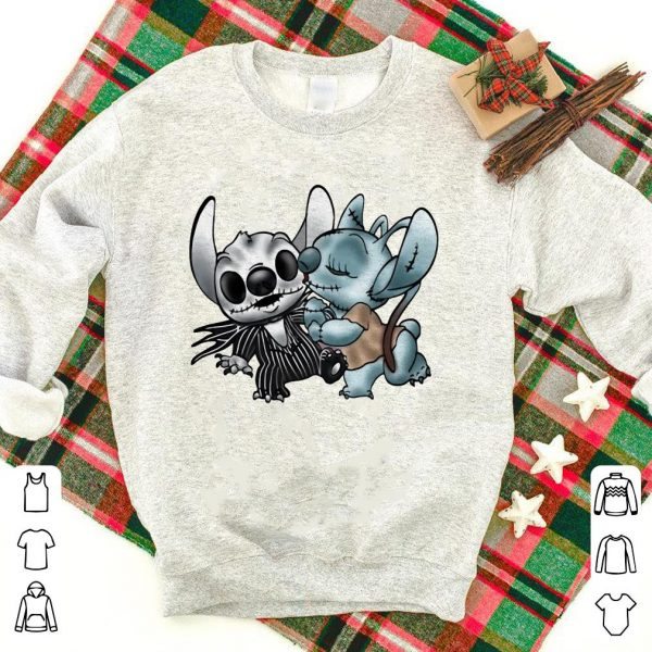 Stitch and Skeleton shirt