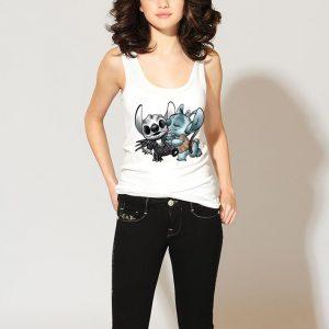 Stitch and Skeleton shirt 2