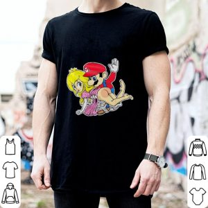 Super Mario hit the butt Princess shirt