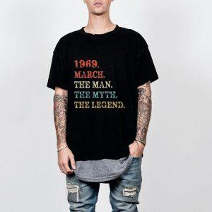 The Man Myth Legend March 1969 shirt