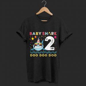 Baby Shark 2nd birthday shirt