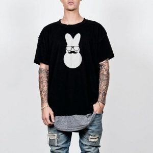 Easter Bunny Pajama Mustache shirt