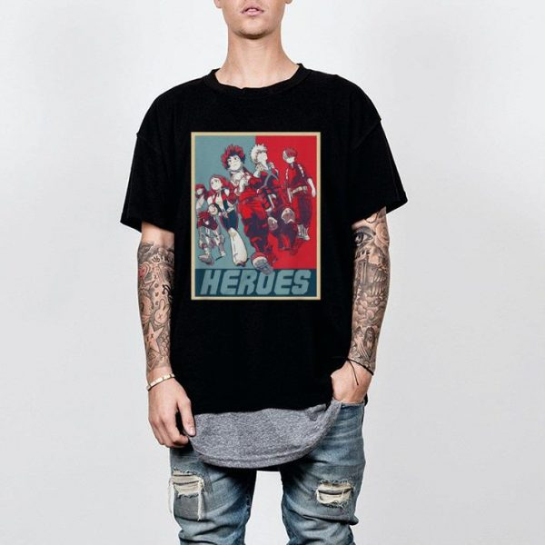 Hero My Academia shirt