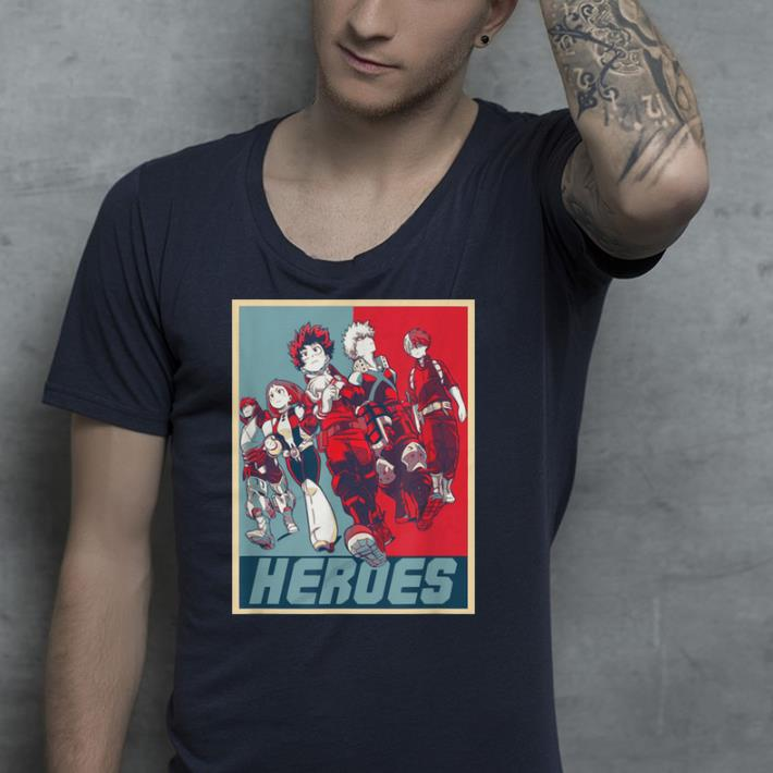 Hero My Academia shirt 4 - Hero My Academia shirt