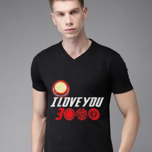 I Love You 3000 Arc Reactor Iron man Marvel end game shirt