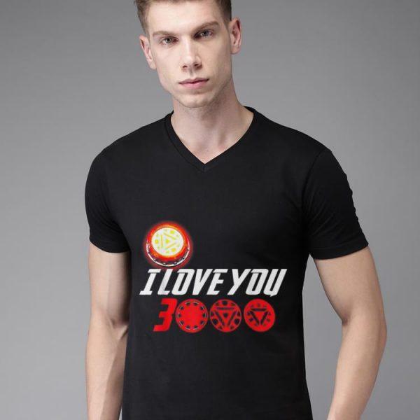 I Love You 3000 Arc Reactor Iron man Marvel end game shirt