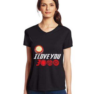 I Love You 3000 Arc Reactor Iron man Marvel end game shirt 2