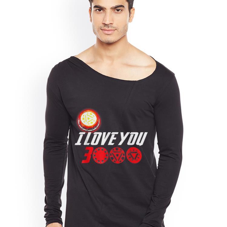 I Love You 3000 Arc Reactor Iron man Marvel end game shirt 4 - I Love You 3000 Arc Reactor Iron man Marvel end game shirt