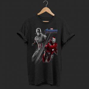 Marvel Avengers Endgame Captain America Iron Man shirt