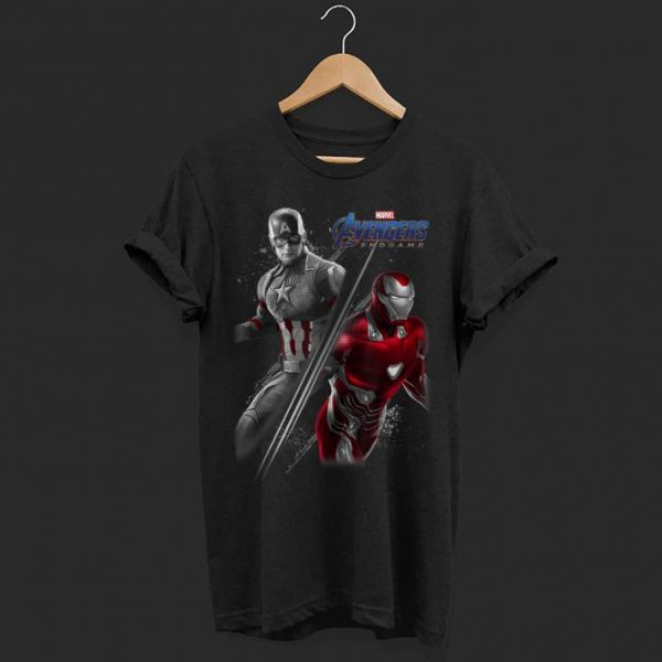 Marvel Avengers Endgame Captain America Iron Man shirt