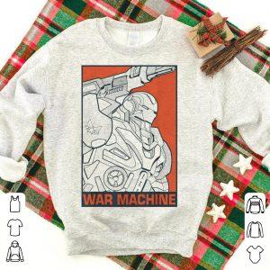 Marvel Avengers Endgame War Machine Pop Art shirt