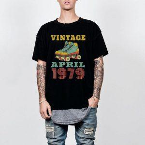Vintage roller skate april 1979 shirt