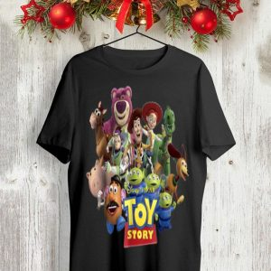 Disney Pixar Toy Story Buzz Woody Wendy Running shirt