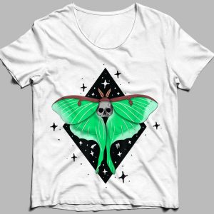 Death Moth Skull butterfly shirt