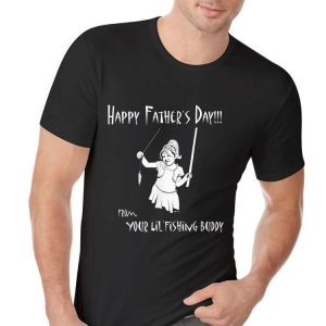 Fathers Day from Daughter Fishing theme shirt
