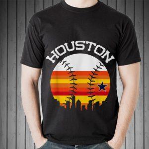 Houston Baseball Throwback Retro Astro Stripe 2018 shirt 1